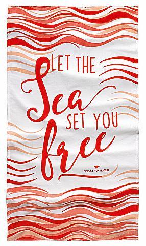 TOM TAILOR Paplūdimio rankšluostis »Sea«