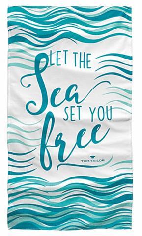 Paplūdimio rankšluostis »Sea« su Spruc...