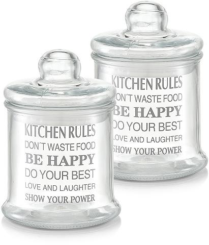 Stikliniai indai 920 ml »Kitchen Rules...