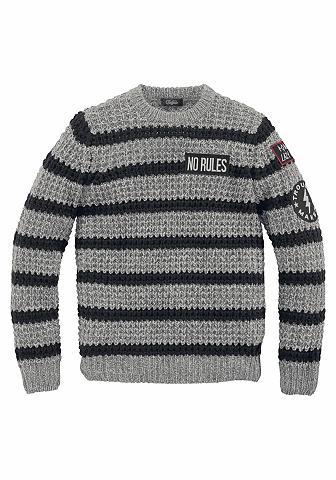 BUFFALO Dryžuotas megztinis