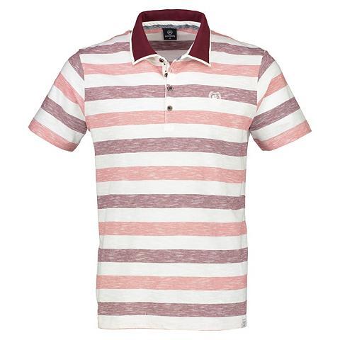 Polo marškinėliai su dryžiai
