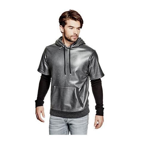 Sportinio stiliaus megztinis metalo ef...