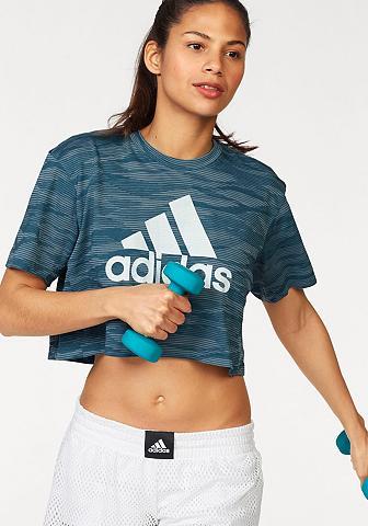 Marškinėliai »AEROKNIT CROP TEE«