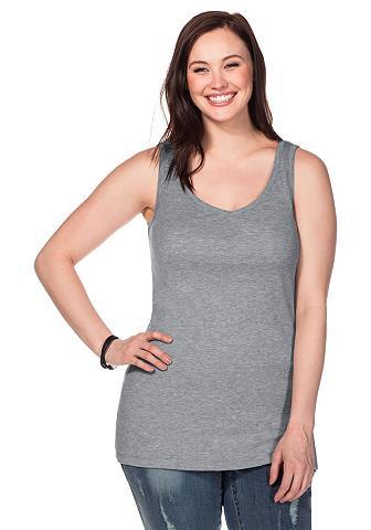 SHEEGO BASIC Sheego Marškinėliai be rankovių