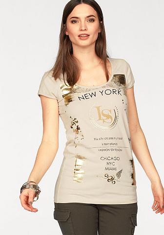 LAURA SCOTT Marškinėliai