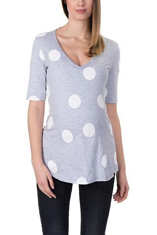 Marškinėliai nėščioms su V formos iški...