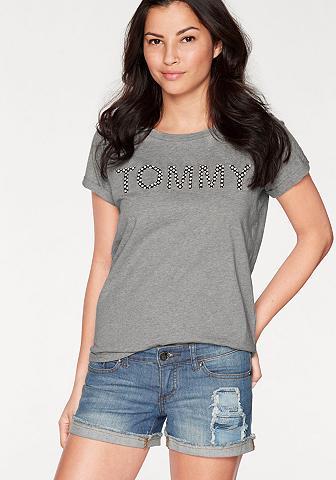 Marškinėliai su Logoschriftzug