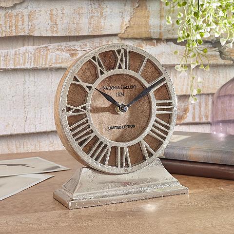 Stalo laikrodis »Silver«