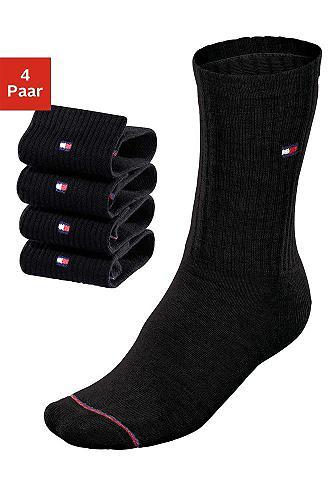 TOMMY HILFIGER Klasikinio stiliaus kojinės (4 poros) ...