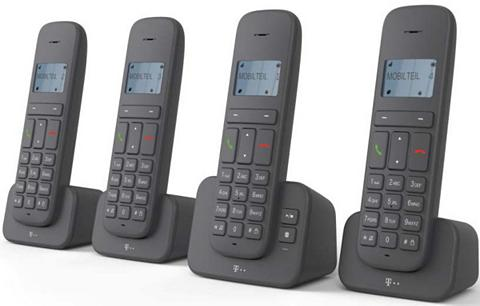 Telefonas analog schnurlos »CA 37 Quat...