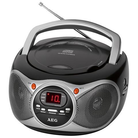 Tragbares Stereo-Radio su CD grotuvas ...