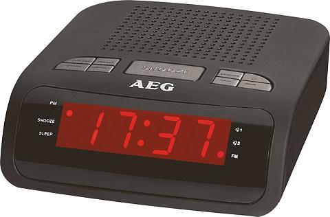 AEG Radijas su laikrodžiu su Einschlafauto...