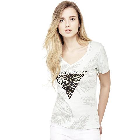 Marškinėliai logotipas gyvūnų rašto im...