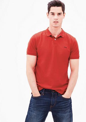 Polo marškinėliai iš Baumwoll-Piqu