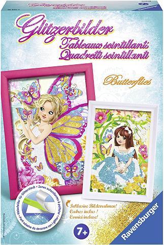 RAVENSBURGER Kreativset »Glitzerbilder Butterflies«...