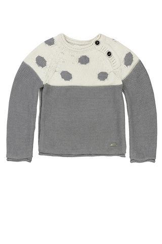 Baumwoll-Pullover su taškiukai Passe G...