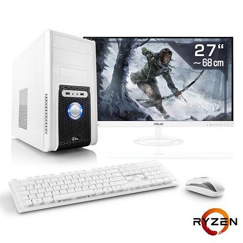Gaming PC rinkinys | Ryzen 7 1700 | GT...