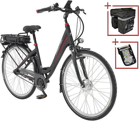 Elektrinis dviratis City Moterims »ECU...