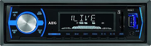 AEG Auto magnetola su LCD-Display BLUETOOT...