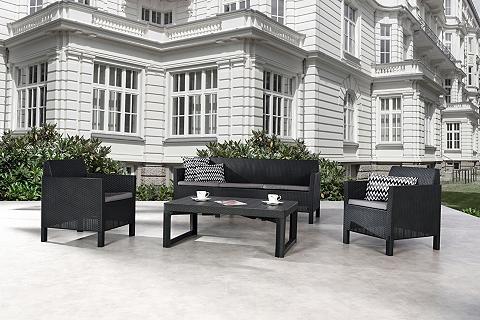 BEST Sodo baldų komplektas »Amalfi« 9-tlg. ...