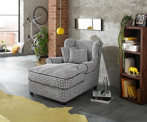 HOME AFFAIRE Ilgas fotelis »Ango« XXL su Kedernaht ...