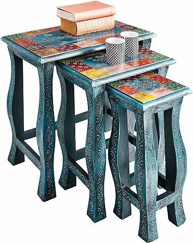 Pristatomas stalas 3 vnt. rinkinys