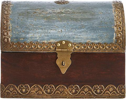 HOME AFFAIRE Suoliukas-dėžė iš Mangoholz