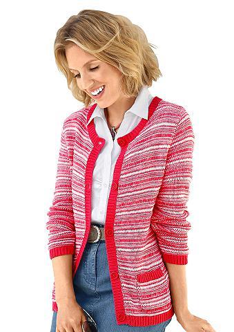 Megztinis su apvalia iškirpte