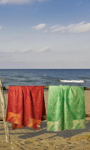 Paplūdimio rankšluostis »Elba« su groß...