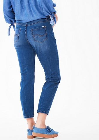 Curvy: siauras Ankle-Jeans