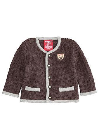 Megztinis Kinder su Knöpfe in Hirschho...