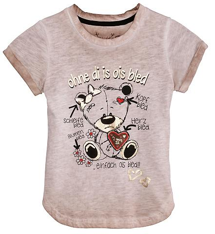 Marškinėliai Kinder su Frontdruck