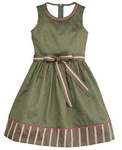 Tautinio stiliau suknelė Kinder su gėl...