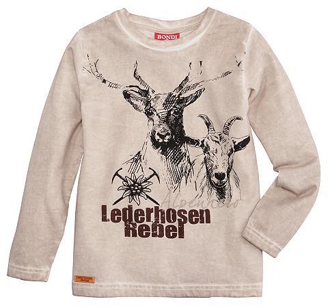 BONDI Marškinėliai Vaikiški su Dekoracija