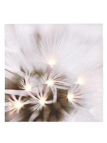 Paveikslas su LED lemputėmis