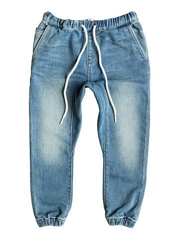 Siauras forma denim Jogger-Shorts