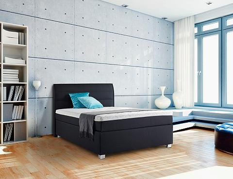 Lova in Boxspring-Optik