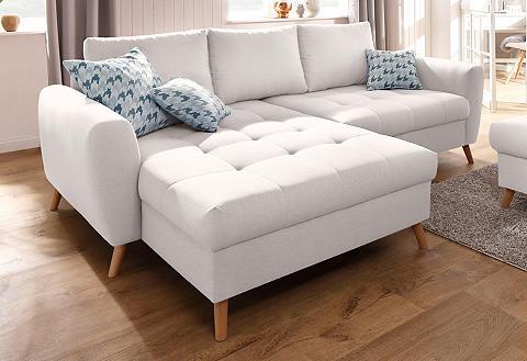 HOME AFFAIRE Kampinė sofa »Jordsand« su subtilus St...