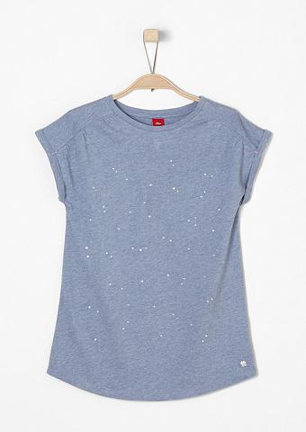 Marškinėliai su blizgūs akmenukai f
