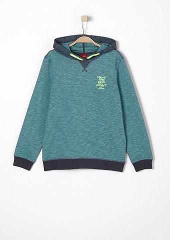 Sportinio stiliaus megztinis su Schrif...