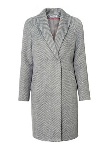 Vilnonis paltas su kišenė