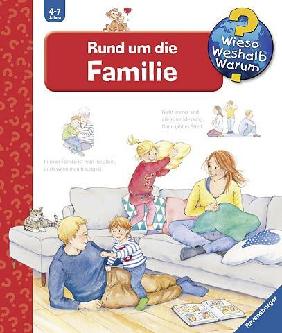 Knyga vaikams »Rund aplink die Familie...