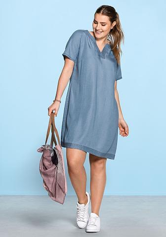 SHEEGO CASUAL Džinsinė suknelė