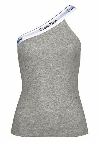 One-Shoulder Marškinėliai be rankovių