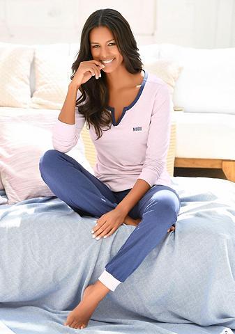 ARIZONA Basic pižama su šoninis kišenės