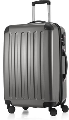 HAUPTSTADTKOFFER Plastikinis lagaminas ant ratukų su 4 ...