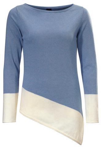 Megztinis apvalia iškirpte asymmetrisc...