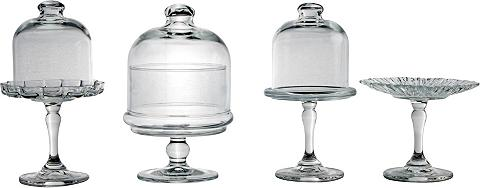 CreaTable Servierteller Glas (4-tlg) 4 vienetai