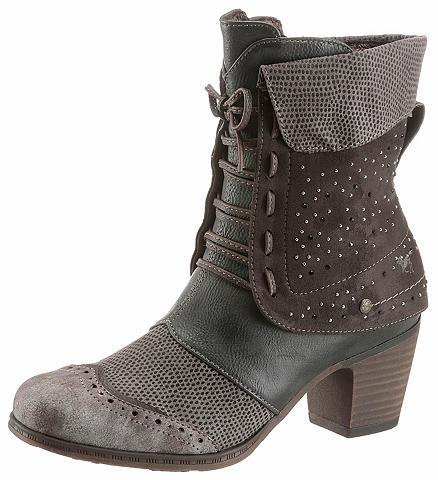 MUSTANG SHOES Kaubojiško stiliaus batai