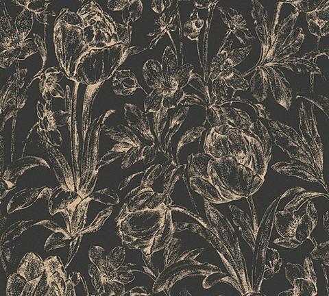 Tapetai »neobarocke ir florale tapetai...